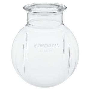 Chemglass CG-1934-03 Morton Type Spherical 5000ml Reaction Vessel