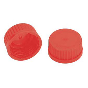 Kimble GL 45 PBT High Temperature Screw Thread Caps, Case/10