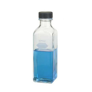 Kimble Square Graduated Milk Dilution Bottle