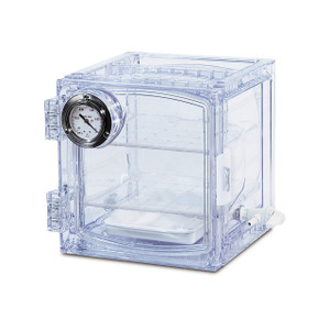 Bel-Art Lab Companion Clear Polycarbonate Cabinet Style Vacuum Desiccator