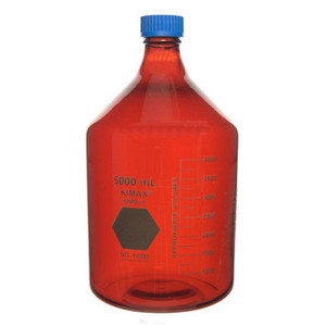 Kimble RAY-SORB GL 45 Media Bottles, 5000ml