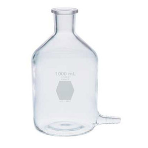 Kimble Reservoir Bottle with Bottom Hose Outlet, 250ml, Case/6