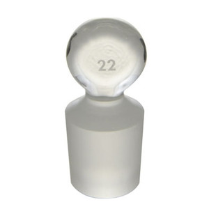 Stopper #22 Glass Penny Head