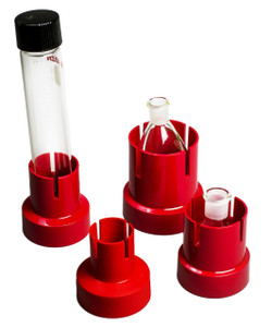 Bel-Art 389512008 Assortment Flaskup Polypropylene Flask Holders Case/12