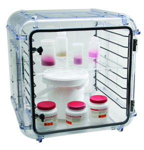 Bel-Art 430000001 Acrylic Shelf Set For Grande Desiccator Cabinets Case/2