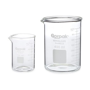 150mL Graduated Low Form Griffin Beakers, case/10
