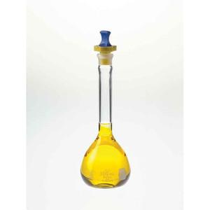 Kimble Class A Volumetric Flasks with Polyethylene Stopper, 200ml, Case/12