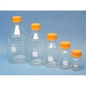 Pyrex® Media Bottle, 100mL, GL-45 Cap, case/10