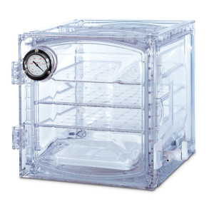 Lab Companion Clear Polycarbonate 35 Liter Cabinet Style Vacuum Desiccator
