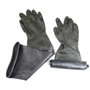 Glove Box Economy Sleeved Size 8 Gloves for 6 Inch Glove Ports