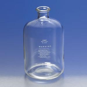 Large Pyrex® Serum Bottle, 4 Liter Glass Lab Carboy