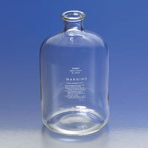 Large Pyrex® Serum Bottle, 9 Liter Glass Lab Carboy