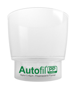 Autofil PP 500mL Funnel Assembly 0.45µm Foxx High Flow Membrane Case/12