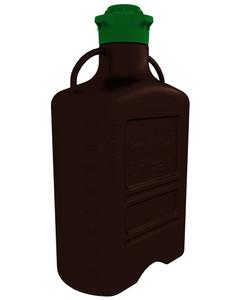 EZgrip Carboy, Dark Amber PP, 40 Liter with 120mm VersaCap