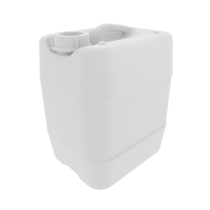 EZwaste UN/DOT HDPE 10L Container with Closed Cap