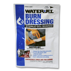 "Water Jel Sterile Burn Dressing, Medium 4"" x 4"", case/60"