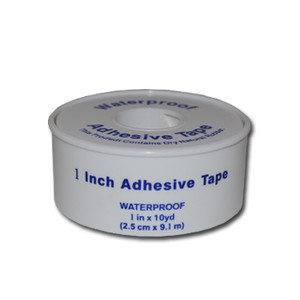 """Waterproof Tape, Bandage Tape Rolls, 1"""" x 10 yd, case/72"""