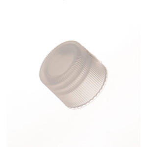Kimble Closed Top Linerless Polypropylene Screw Thread Caps, Case/7000