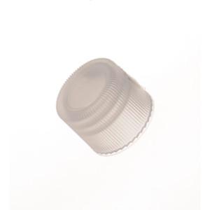 Kimble Closed Top Linerless Polypropylene Screw Thread Caps, Case/7000