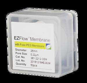 EZFlow Membrane PES 25mm Non-Sterile Disc Filter 50/pk