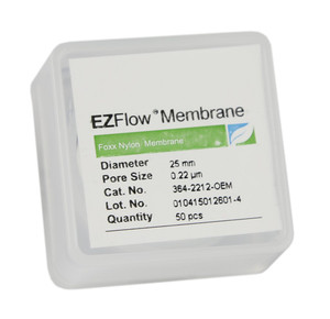 EZFlow® 25mm Nylon Membrane Disc Filter, pack/50