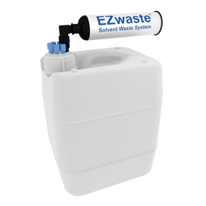 "EZWaste UN/DOT Filter Kit VersaCap 51S 6 ports for 1/16"" OD Tubing with 10L Container"