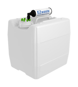 "EZwaste UN/DOT Filter Kit VersaCap S70 6 ports for 1/16"" OD Tubing with 13.5L Container"