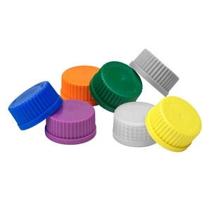 Solid PP Screw Caps, GL-45, case/10