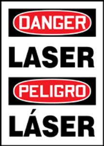 "BILINGUAL SAFETY SIGN, 20"" x 14"", Pack/10"