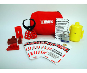 Electrical Lockout Pouch Assembly Kit.