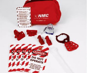 Deluxe Lockout Pouch Assembly Kit.
