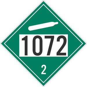 "1072 2 Dot Sign Placard Stock, 10.75"" X 10.75"""