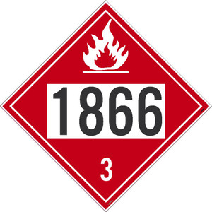 1866 3 Dot Placard Sign Pressure Sensitive Removable Vinyl .0045