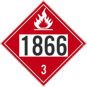 """1866 3 Dot Placard Sign Card Stock, 10.75"""" X 10.75"""""""