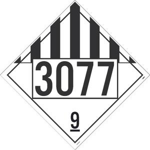 """3077 9 Dot Placard Sign Card Stock, 10.75"""" X 10.75"""""""