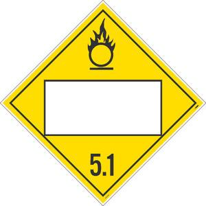 "5.1 Blank Placard Sign Unrippable Vinyl, 10.75"" X 10.75"""