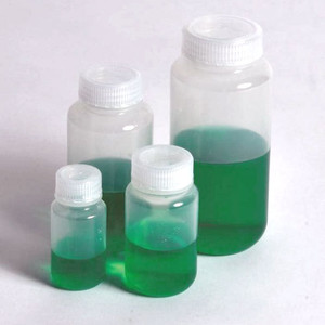 Reagent Bottles, Wide Mouth, PP, 30mL, case/100
