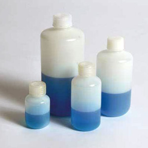 Reagent Bottles, Narrow Mouth, HDPE, 1000mL, case/50