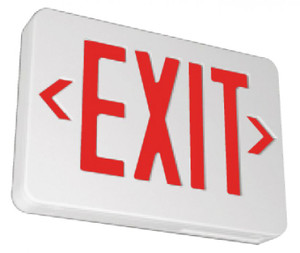 Lighted Exit Sign Battery Backup