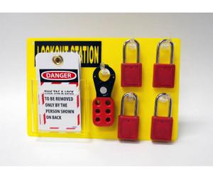 """Small Lockout Station Assembly / Kit, 8"""" X 12"""""""