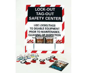 Lockout Safety Center Equipped High Impack Polystyrene