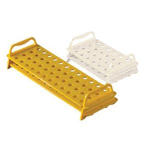 Rack for Micro Tubes, Autoclavable Polycarbonate, 48 Places, pack/8