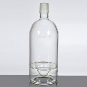 Vacuum Bottle, 5000mL Capacity with Ground Glass Joints