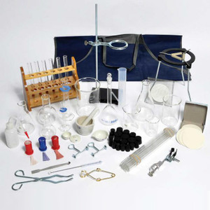 Complete Lab Chemistry Setup Kit, 73 piece assortment