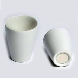 Porcelain Crucibles, Porous Bottom, 25mL, 15.0 Micron, case/8