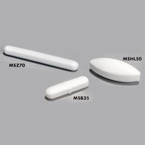 Magnetic Stir Bars Assortment, PTFE, Set of 20 (2 x 10 sizes)