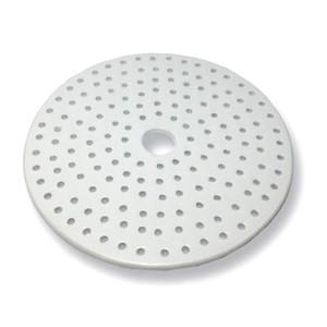 Porcelain Desiccator Plate, Small Holes, 140mm Diameter
