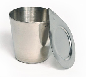 Nickel Crucible with Lid, 25mL, Each