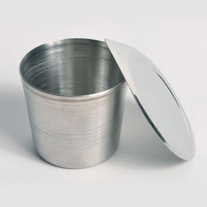Stainless Steel Crucible with Lid, 100mL