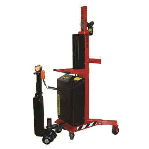 Wesco 240157 Ergonomic Drum Handler Power Lift & Drive